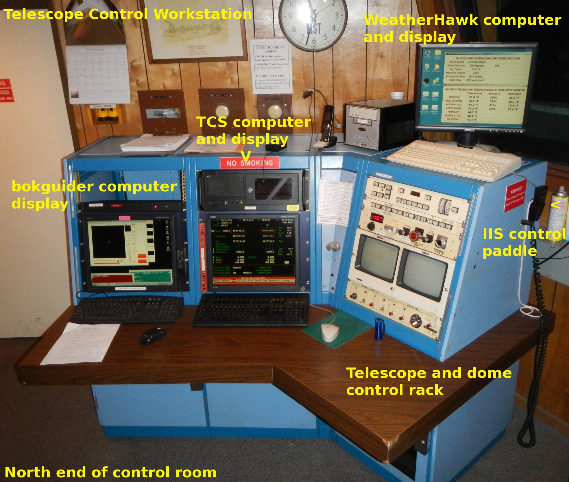 Operation Of The Steward Observatory Bok 90 Quot Telescope